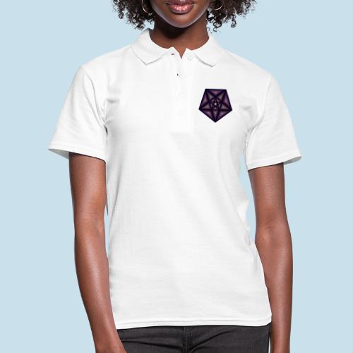 Pentagramm farbe - Frauen Polo Shirt