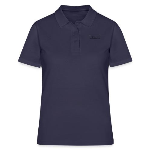 Trilain - Box Logo T - Shirt White - Women's Polo Shirt
