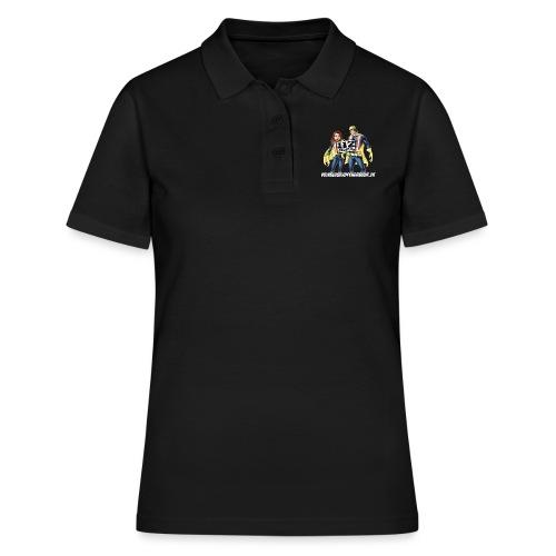 Superhelden & Logo - Frauen Polo Shirt