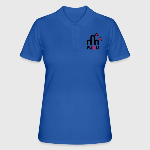 T-shirt FUQU logo colore nero - Women's Polo Shirt