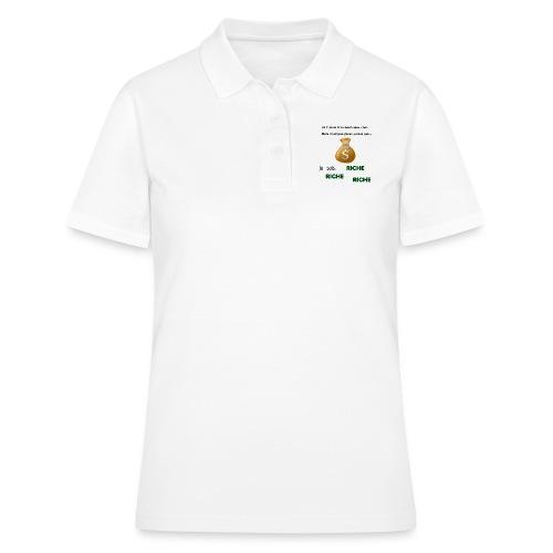 Je suis riche. - Women's Polo Shirt