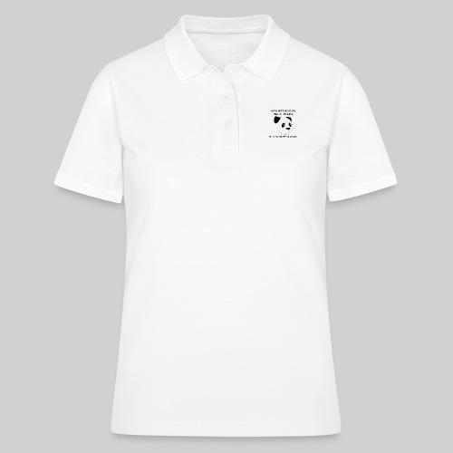 Against Racism Panda - Frauen Polo Shirt