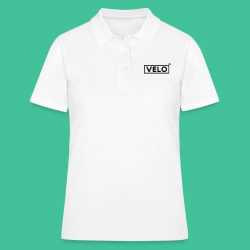 Velo Icon Blk - Long Sleeve Baseball Shirt W/N Clr - Women's Polo Shirt