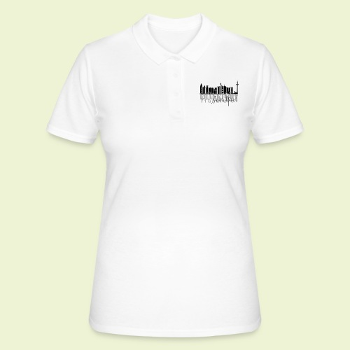 FFM - Frankfurt Skyline - Frauen Polo Shirt