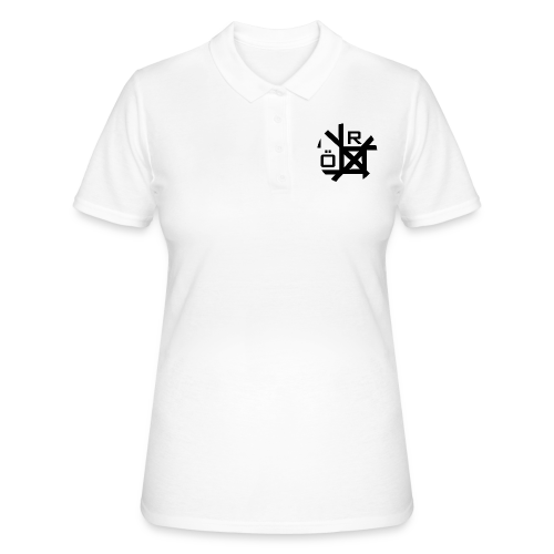 Nörthstat Group™ TecH | iCon - WHT.Knapsack - Women's Polo Shirt