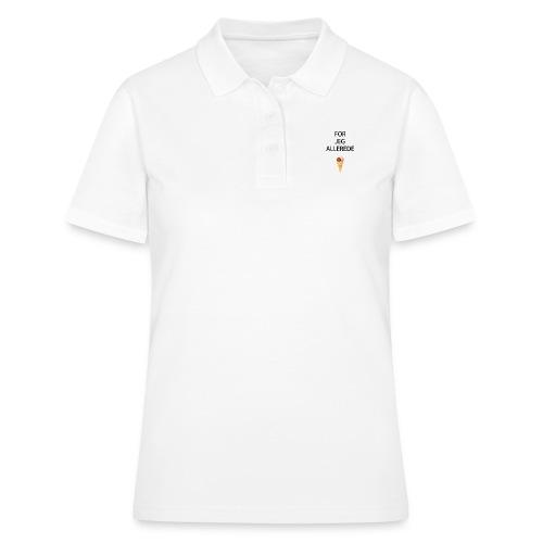 Allerede is hagesmæk - Women's Polo Shirt