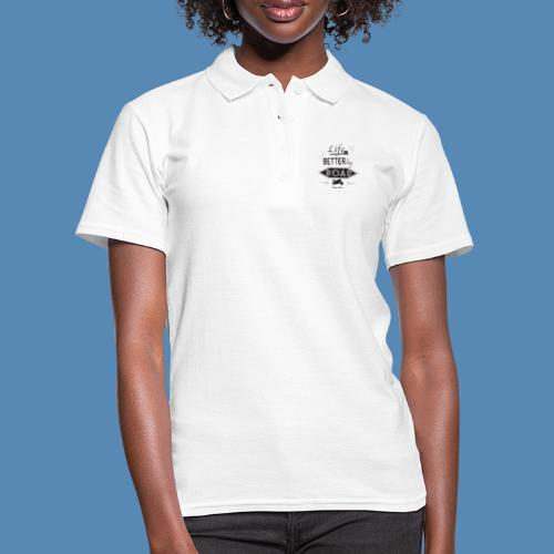Moto - Life is better on the road - Polo Femme