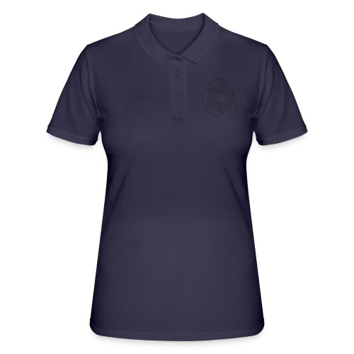 mandala turntable 1210 - Women's Polo Shirt