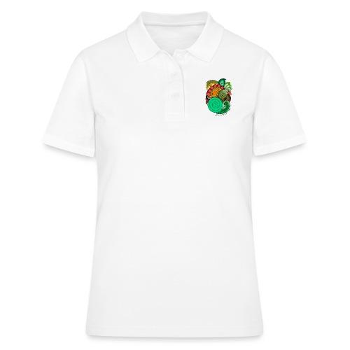 Coloured Leaf Mandala - Women's Polo Shirt
