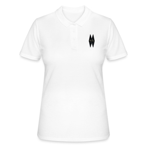 MELWILL black - Women's Polo Shirt