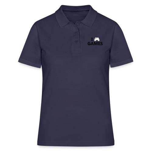 I Love Games - Women's Polo Shirt