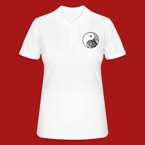Decorative-Yin-Yang - Women's Polo Shirt