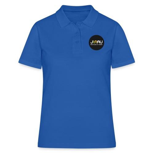JUNAU - Das muss ich Wissen (rund) - Frauen Polo Shirt
