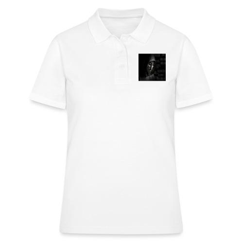 Anonymous_Barcode - Women's Polo Shirt