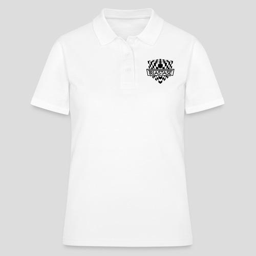 Triastase Logo Black - Women's Polo Shirt
