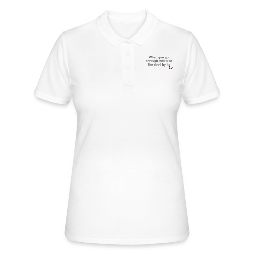 diable - Women's Polo Shirt