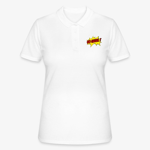 PREMIUM SO GEEEK - LOGO DESIGN - Women's Polo Shirt