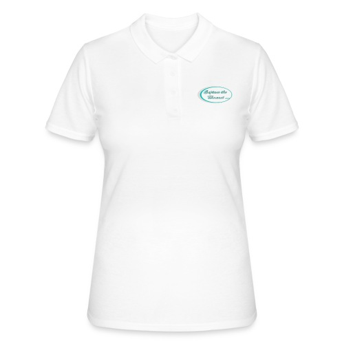 Logo capture the moment photography slogan - Women's Polo Shirt