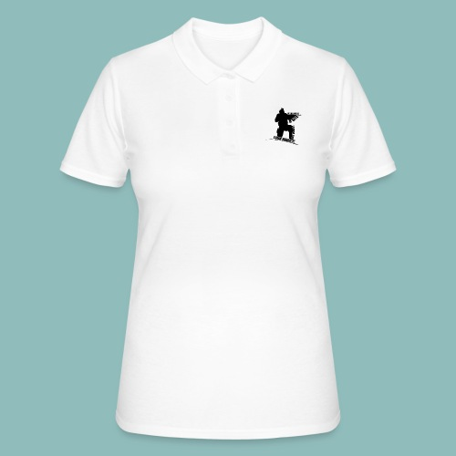 I'd rush you - Black Version - Frauen Polo Shirt