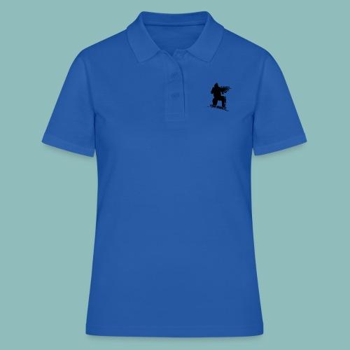 I'd rush you - Black Version - Frauen Polo Shirt