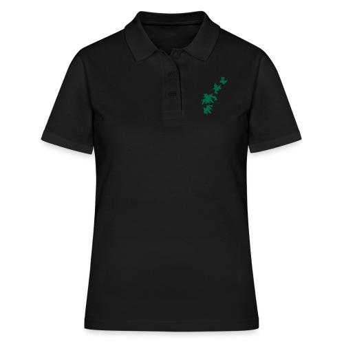 Green Leaves - Frauen Polo Shirt