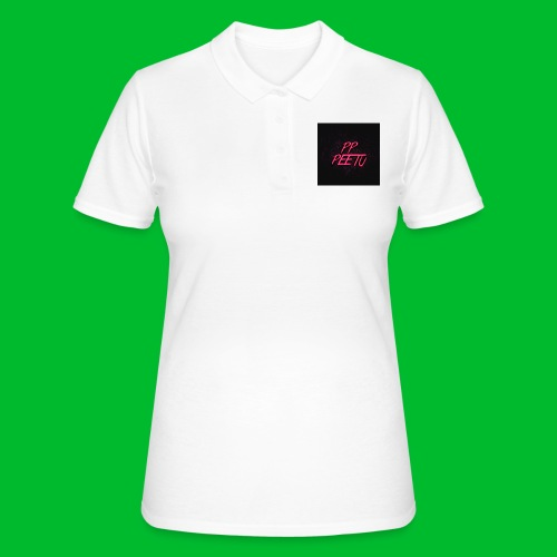 Ppppeetu logo - Women's Polo Shirt