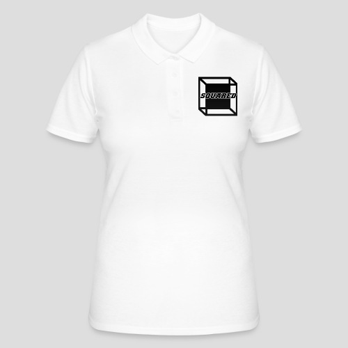 Squared Apparel Black Logo - Women's Polo Shirt