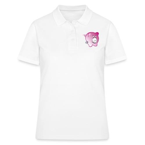 Pig - Symbols of Happiness - Women's Polo Shirt
