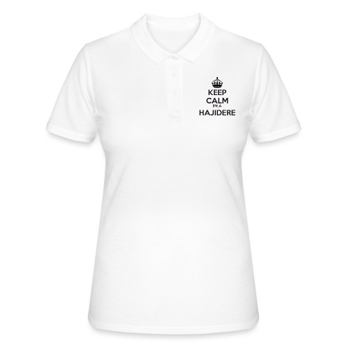 Hajidere keep calm - Women's Polo Shirt