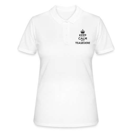 Teasedere keep calm - Women's Polo Shirt