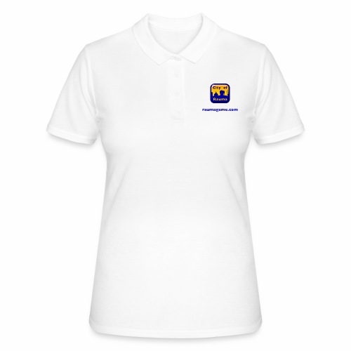 Raumagame logo - Naisten pikeepaita
