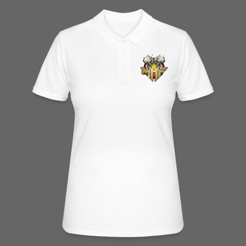 new mhf logo - Women's Polo Shirt