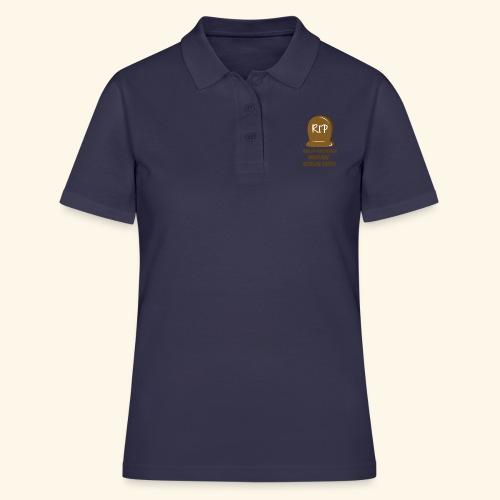 RIP, hvis du forstyrrer inden min morgen kaffe - Women's Polo Shirt