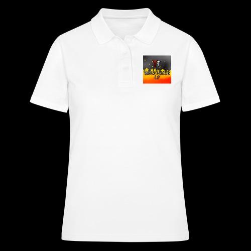 Waschbeer Design 2# Mit Flammen - Frauen Polo Shirt