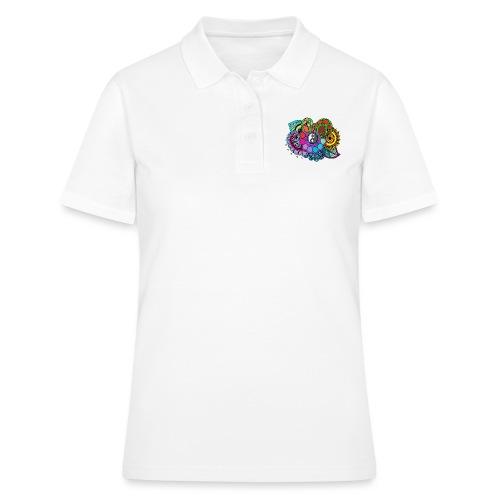 Coloured Nature Mandala - Women's Polo Shirt