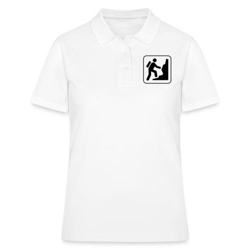Bergwandern_logo - Frauen Polo Shirt