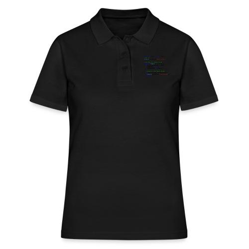 Love seen by a C# programmer - Women's Polo Shirt