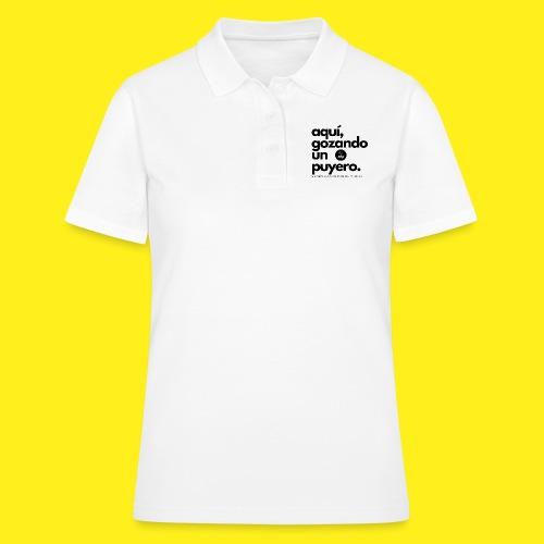 aqui gozando un puyero - Women's Polo Shirt