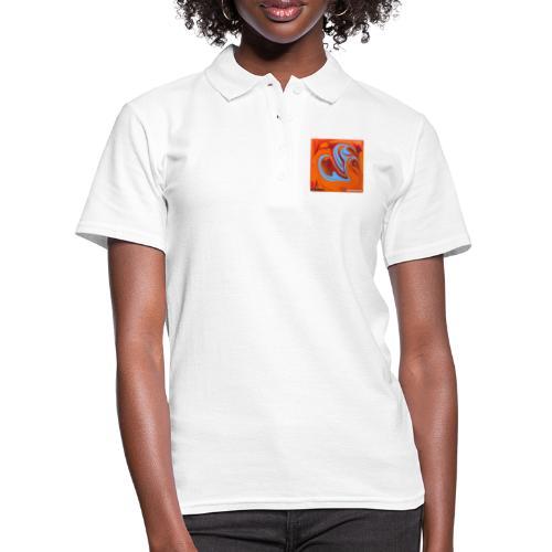 TIAN GREEN Mosaik DK005 - Herzenswelten - Frauen Polo Shirt