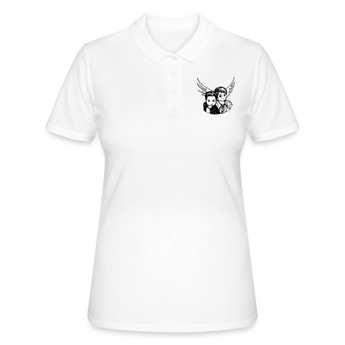 Destiel i sort/hvid - Women's Polo Shirt