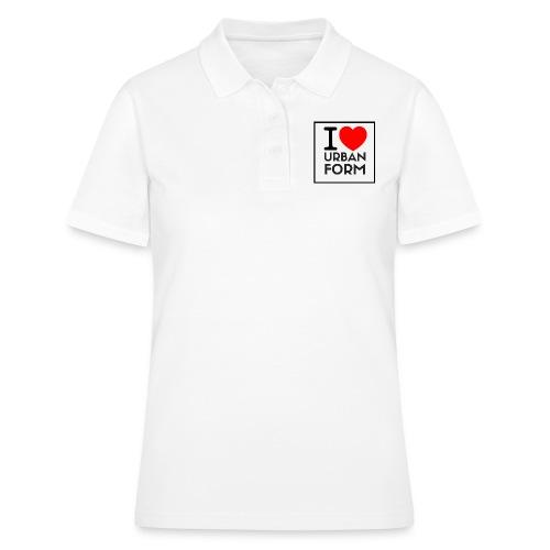 I LOVE URBAN FORM - Women's Polo Shirt
