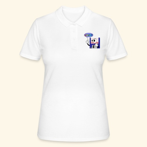 floppy disk come back again - Women's Polo Shirt