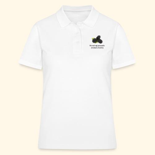 Picking blackberries - Women's Polo Shirt