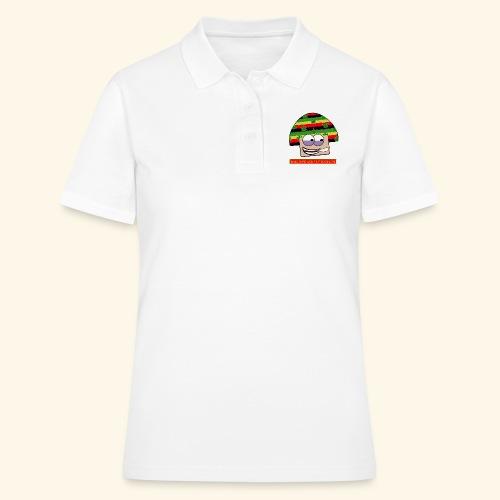 mushroom ganja-man - Women's Polo Shirt