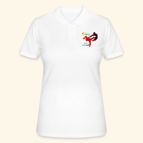woman mean unbreakable - Women's Polo Shirt