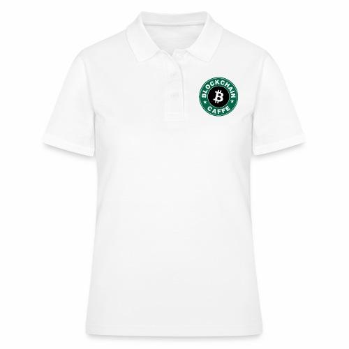 BlockChain Caffè Logo - Polo donna
