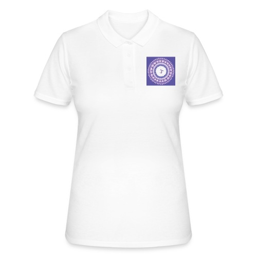 Sahasrara - Crown Chakra - Women's Polo Shirt