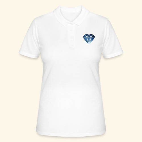 Galaxie Diamant - Frauen Polo Shirt
