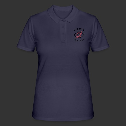 Looking Farther - White - Women's Polo Shirt