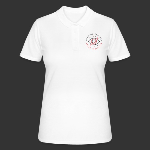 Space Individuals - Looking Further White - Women's Polo Shirt